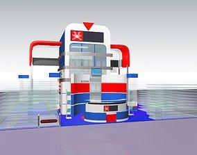 3D model Tech Services Expo