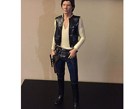 Han Solo HQ Scale 1-6 30cm 3D print model