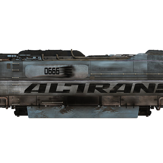 """Hover Train from the Firefly episode """"Train Job"""""""