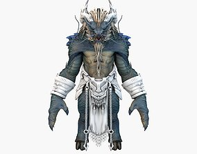 3D model Dragon Mutant