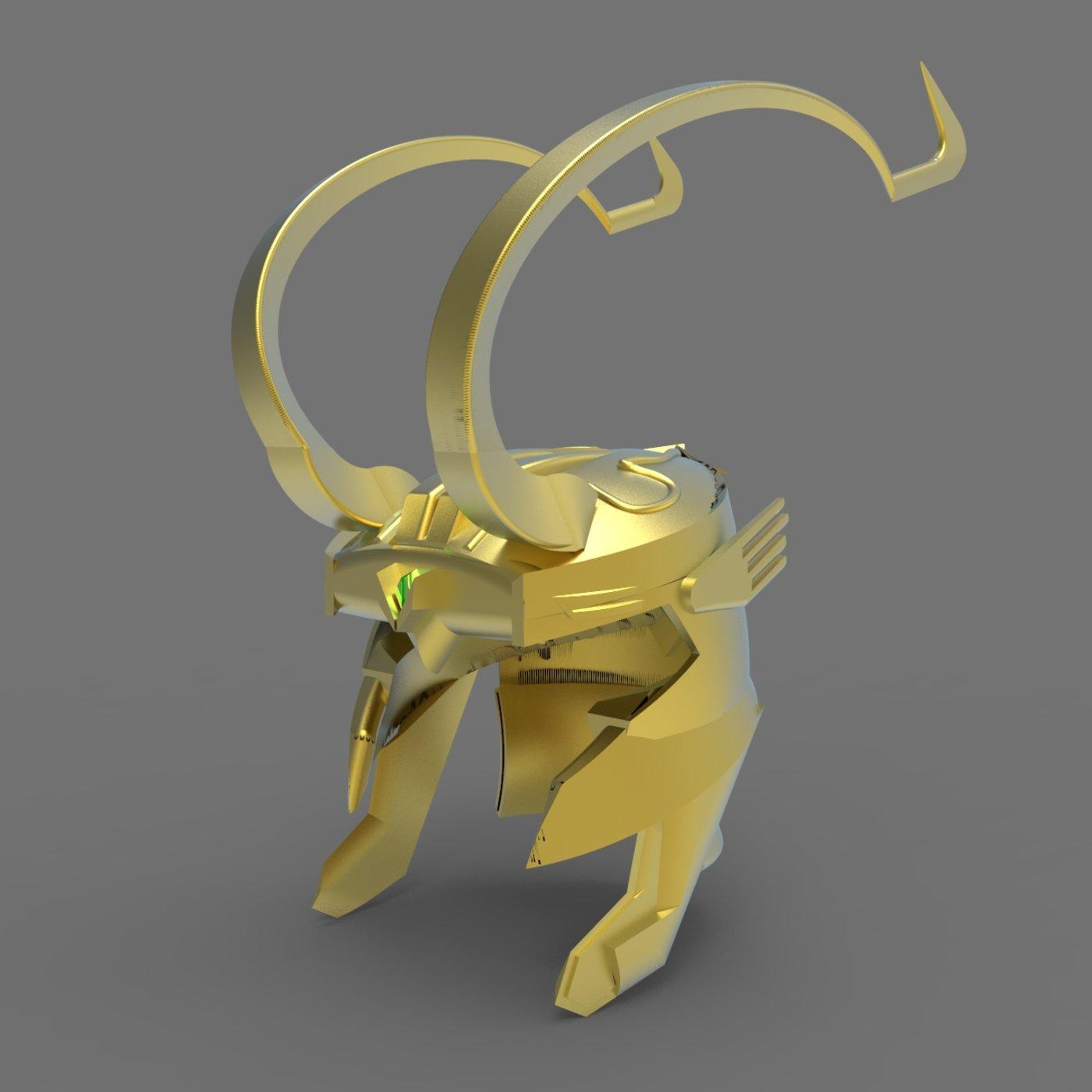 Lokis Helmet