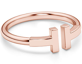 3D printable model Wire Rings