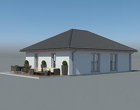 Family House 002 3D model