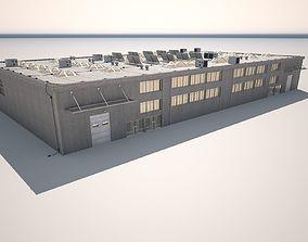 Cargo Building2 3D