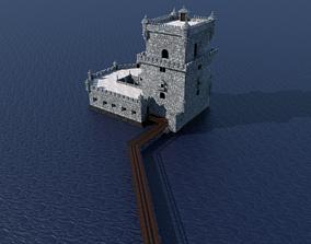 Belem Tower 3D asset