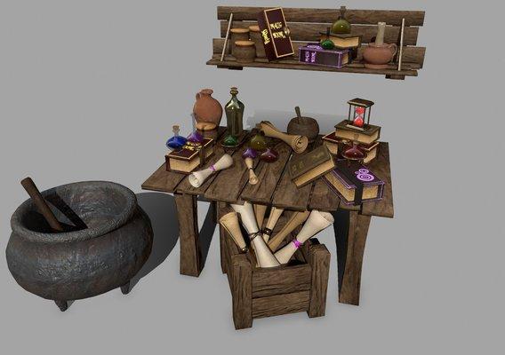 Alchemy Set