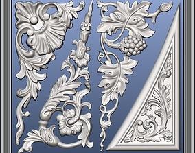 3D model Pearlworks corner elements CE-151 series
