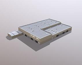 Airport LIRN Storage3 Naples International 3D model