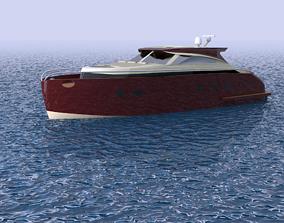 Concept Lobster Yacht 3D model