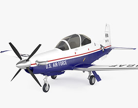 Beechcraft T-6A Texan II 3D model