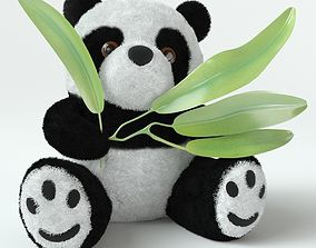 3D model VR / AR ready Soft Toy Panda