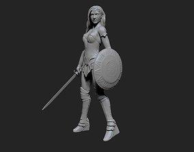 3D printable model Wonder Woman