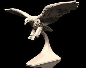 bird Bald Eagle Orlan 3d model for 3d printing