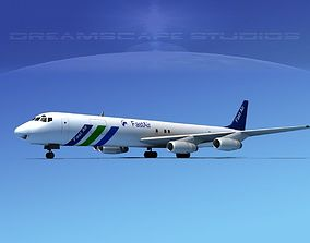 Douglas DC-8-63F Fast Air 3D