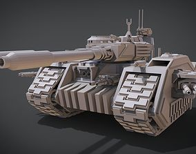 Behemoth Tank 3D printable model