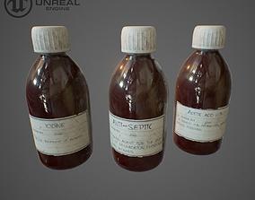 3D model Medicament bottle