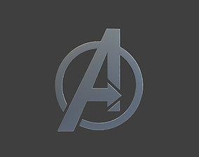 Avenger Logo 3D print model