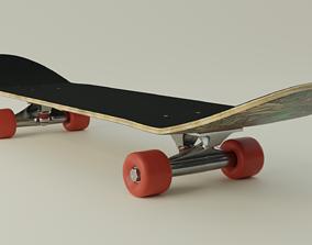 Skateboard 3D recreation