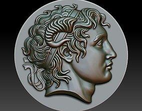 3D printable model Alexander the Great