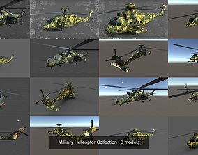 3D weapons Military Helicopter Collection