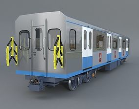 Railway carriage 81-760 3D model