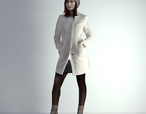 architectural 3D Scan Woman Winter 001
