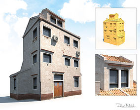 Old Building 186 Low Poly 3D model