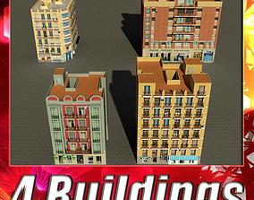 Building Collection 93-96 3D asset
