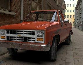 3D model Chevrolet C10 1985 Silverado