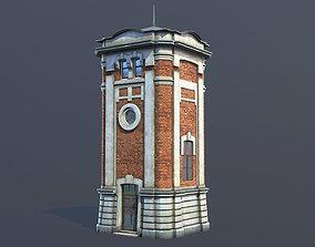 Water Tower 01 Ver 2 3D asset