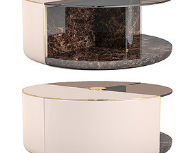 Turri ECLIPSE Round coffee tables 3D model