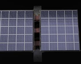 Solar Panel Hi-Tech 3D asset