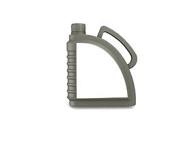 3D auto Engine oil bottle