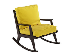 3D model EGO ROCKING CHAIR Potocco Italy