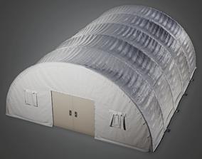 3D asset GEN - Military Tent - PBR Game Ready