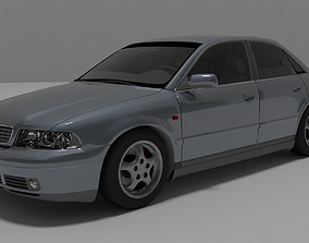 3D asset Audi A4