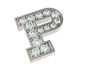3D printable model Letter P