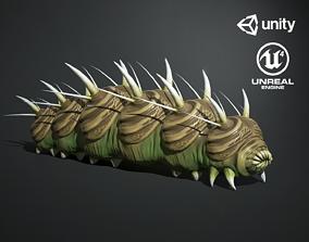 Caterpillar Creature 3D model