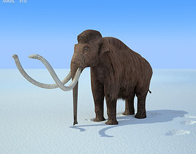 3D asset Mammoth Mammuthus