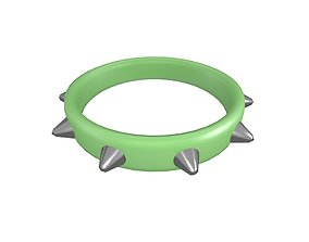 Spiked Collar v1 014 3D model