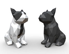 French Bulldog Figure 3D printable model