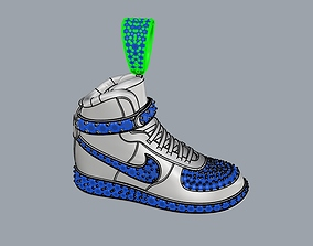3D printable model nike air jordan pendant