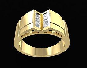 3D print model 1570 Korea style Men Ring