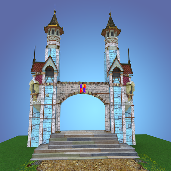 Castle Towers WIP