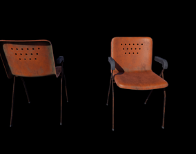 3D model game-ready Retro Conference Chair