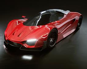 Car Concept 3D model PBR