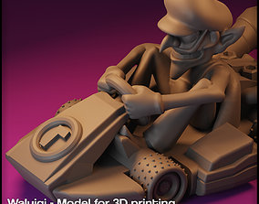 WALUIGI MARIO KART - WALUIGI FOR 3D printable model 1
