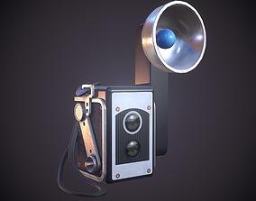 Old antique camera 3D model
