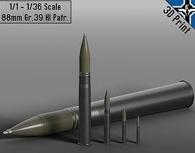 Small Scale - 88mm Gr 39 Hl Patr --- 3D printable model 4