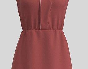 Dress D2474 MD 3D model